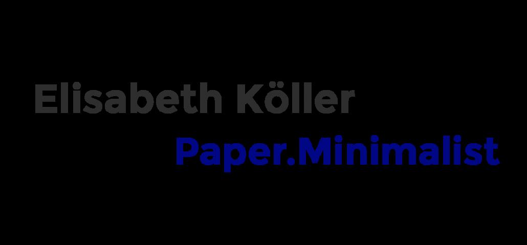 Paper Minimalist